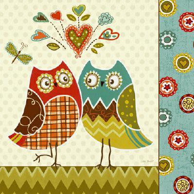 Owl Wonderful II von Lisa Audit