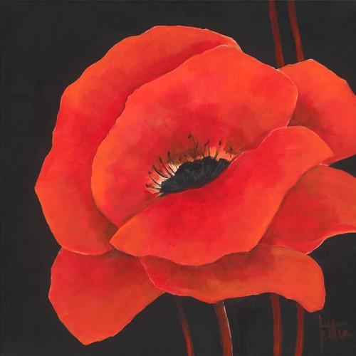 Simple Red I von Jettie Roseboom