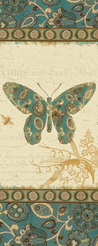 Natures Pattern II in Blue von Alain Pelletier