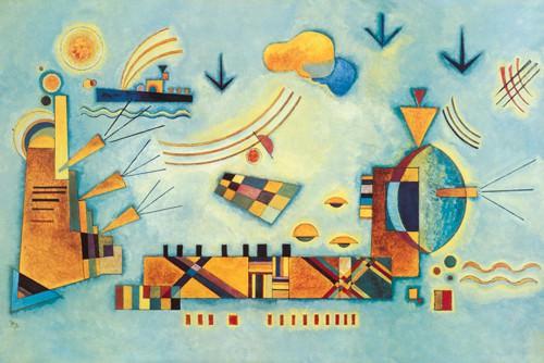 Dolce evento von Wassily Kandinsky