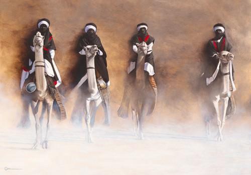 Les Cavaliers de leAube von Cedric Cazal