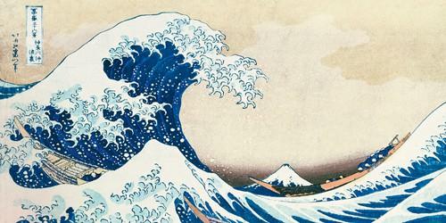 Leonda I von Katsushika Hokusai