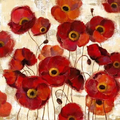 Bold Poppies von Silvia Vassileva