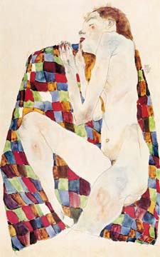 Akt von Egon Schiele