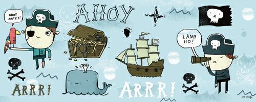 Ahoy Matey I von Mike Lowery