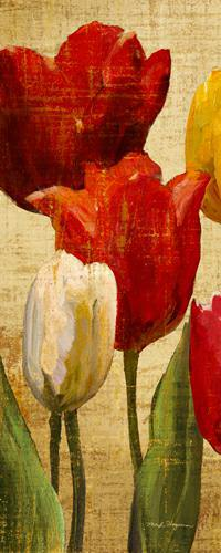 Tulip Fantasy on Cream II von Marilyn Hageman
