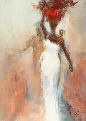Silhouettes Africaines I von Chantal Parise