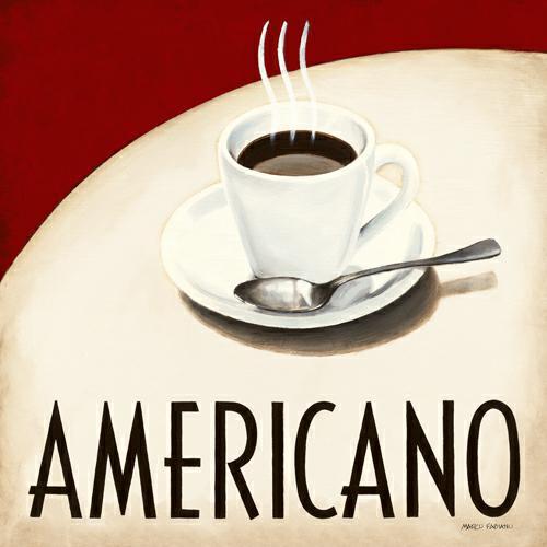 Cafe Moderne III von Marco Fabiano