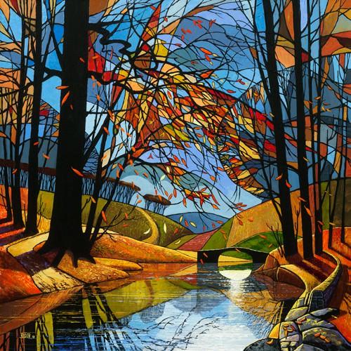 Autumn Stream von David James