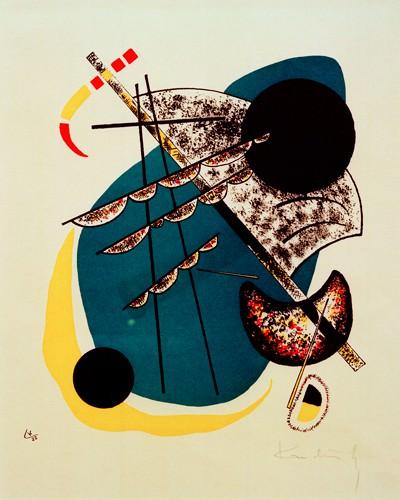 Kleine Welten II von Wassily Kandinsky
