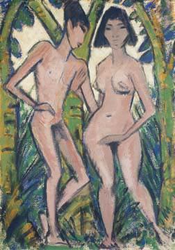 Adam und Eva von Otto Mueller