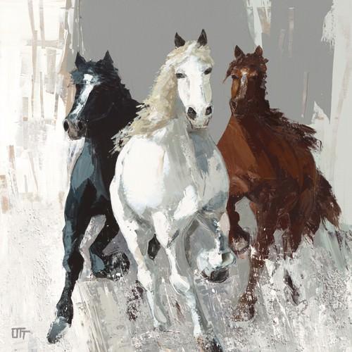 Les chevaux I von Bernard Ott