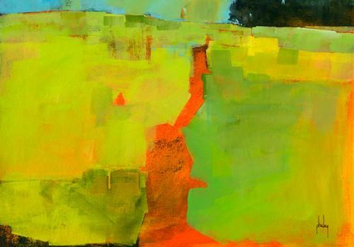 Orange Path von Paul Bailey