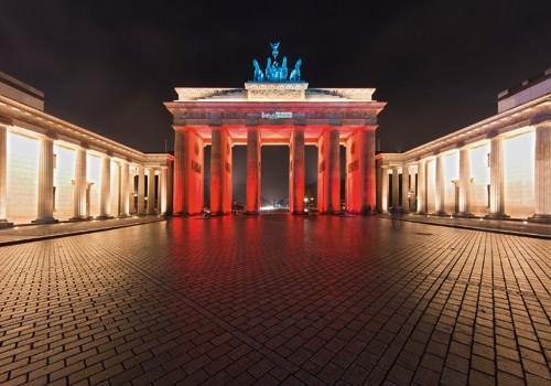 Brandenburger Tor II von Rolf Fischer