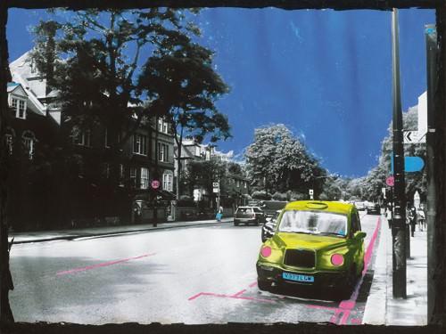 Yellow Cab von Riccardo Simonutti