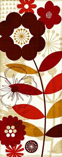 Floral Pop I von Michael Mullan
