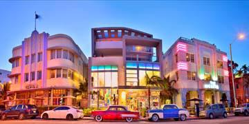 Collins Avenue, Miami von Susanne Kremer