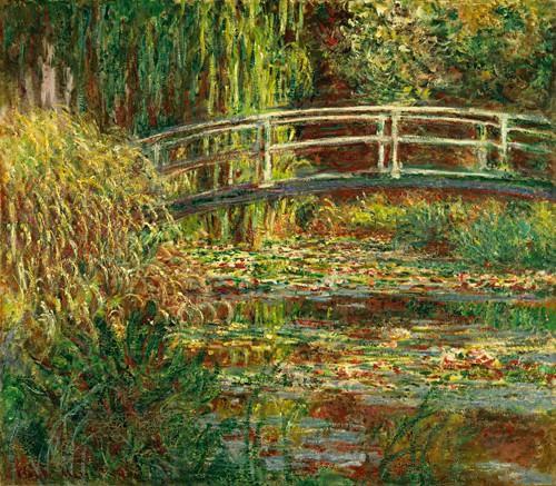 Seerosenteich, Harmonie in Rosa von Claude Monet