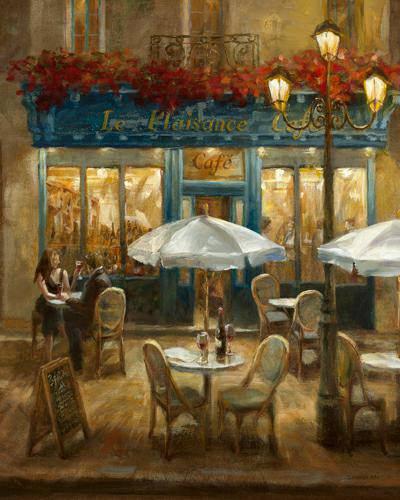 Paris Cafe I Crop von Danhui Nai