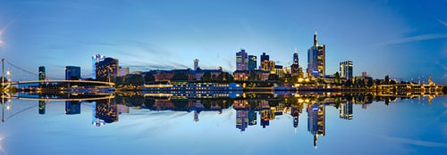 Frankfurt - Panorama von Rolf Fischer