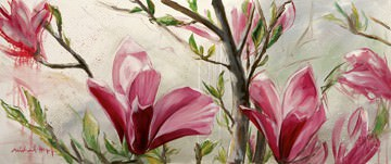 Blüteneleganz von Michael Hopf