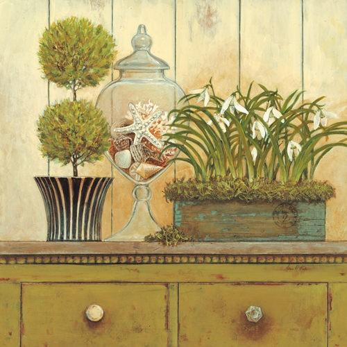 Vintage Garden 3 von Arnie Fisk