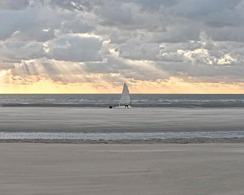 Sunset Ride von Georges-Felix Cohen