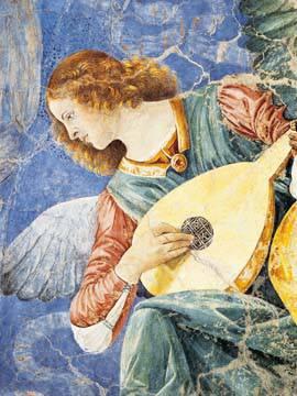 Angelo Musicante von Sandro Botticelli