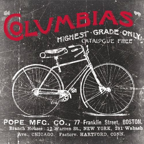 Antique Bicycle II von Katrina Craven