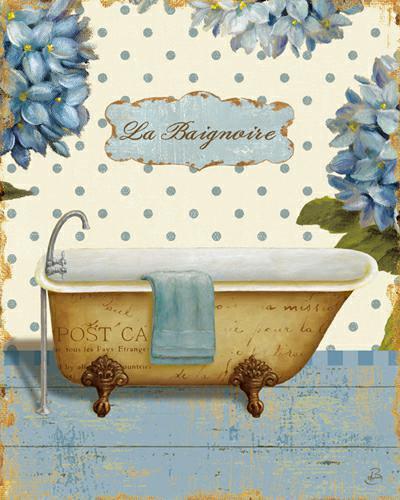 Thinking of You Bath II von Daphne Brissonnet