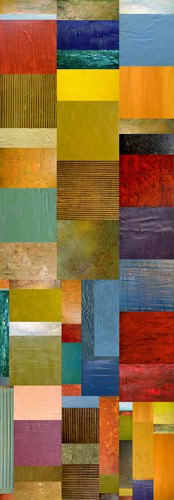 Color Panels with Water & Waves von Michelle Calkins