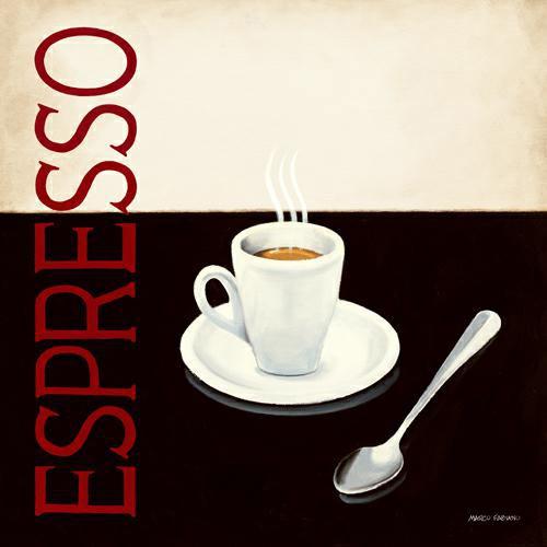 Cafe Moderne IV von Marco Fabiano