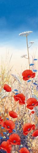 Poppy Field III von Hilary Mayes