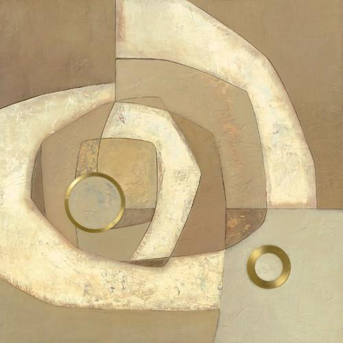 Gold Circle von Jodi Jones