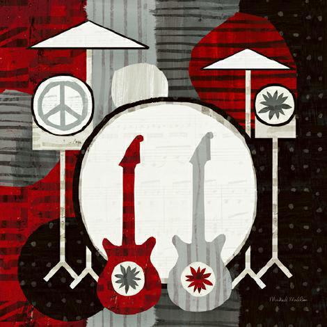 Rock en Roll Drums von Michael Mullan
