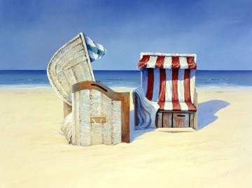 Beach Chairs II von Sigurd Schneider