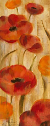 May Floral Panel I von Silvia Vassileva