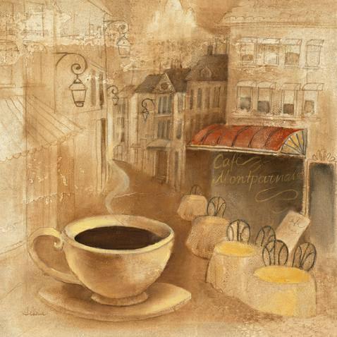 Cafe de Paris I von Albena Hristova