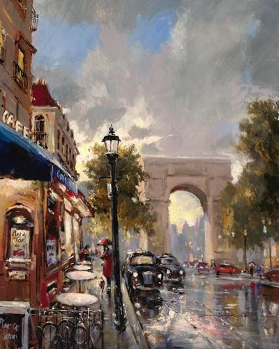 Arc de Triomphe Avenue von Brent Heighton