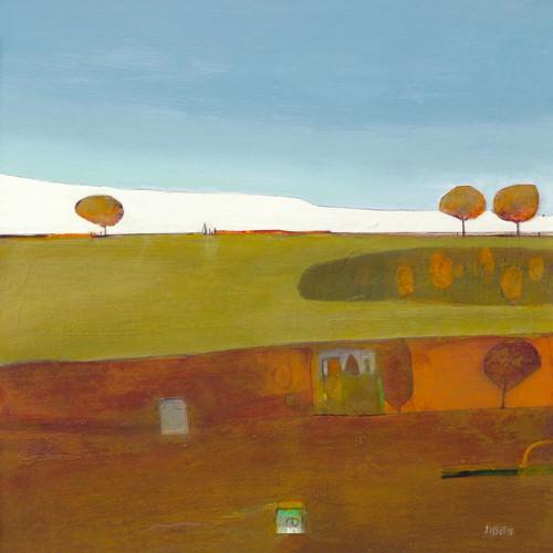 Moorland at Cartwell von Russell Frampton