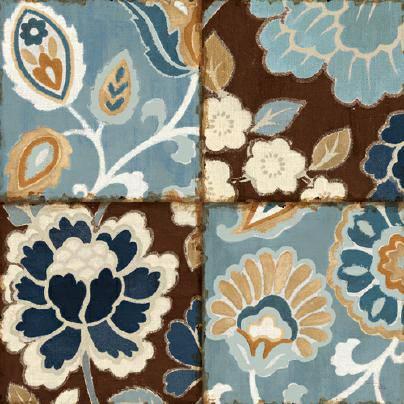 Patchwork Motif Blue I von Alain Pelletier