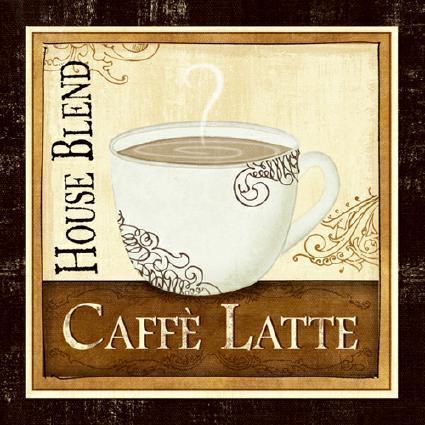 Coffee and Cream I von Veronique Charron