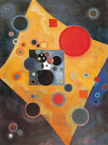Akzent in Rosa von Wassily Kandinsky