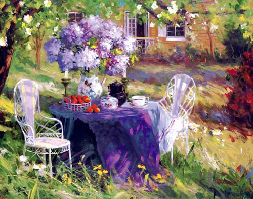 Lilac Tea Party von Benjamin