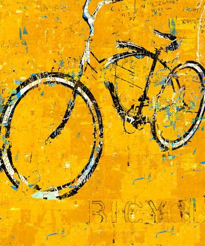 Gold Bike von Daryl Thetford