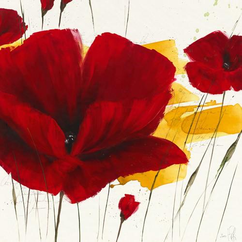 Liberte fleurie II von Isabelle Zacher-Finet