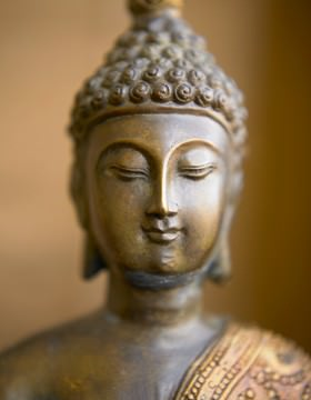 Buddha 4 von Tom Weber