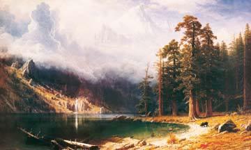 Mount Corcoran von Albert Bierstadt