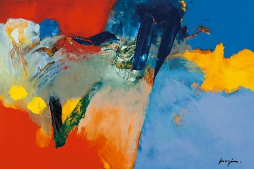 Rouge - Bleu II von Pascal Magis