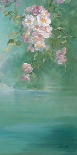 Roses Chaalis Blanches von Sylvie Vernageau